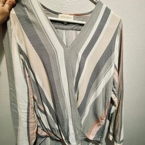 Long sleeve large top